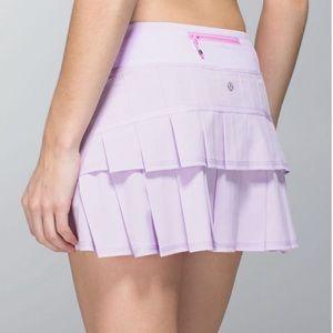 Lululemon Pace Setter Pretty Purple Skirt 6T